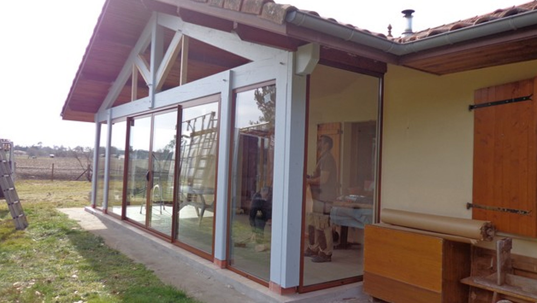 volet roulant sur mesure pour veranda. Black Bedroom Furniture Sets. Home Design Ideas