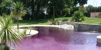 piscine coloré
