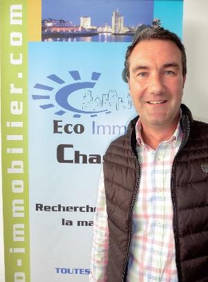 Éric Couratier, chasseur d'appartements et biens immobiliers PHOTO JULIA TOURNEUR