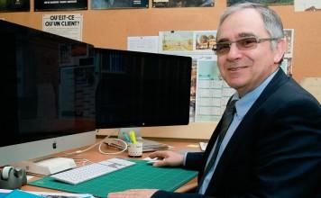 Jean Ferrando, architecte et président de l'UNPI - PHOTO THIERRY SUIRE