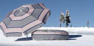 Les toiles de parasol sont mêmes utiles en hiver