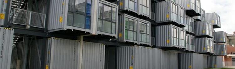 Des containers en guise de logements étudiants