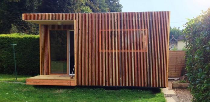 La cabane en bois Greenkub