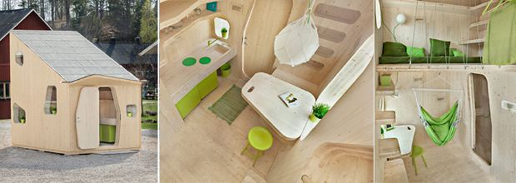 Smart , les maisonnettes suédoises de Tengbom Architects