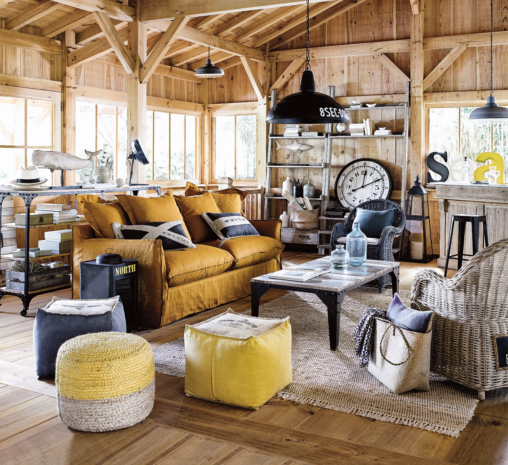 un souffle iod dans la maison en bord de mer. Black Bedroom Furniture Sets. Home Design Ideas