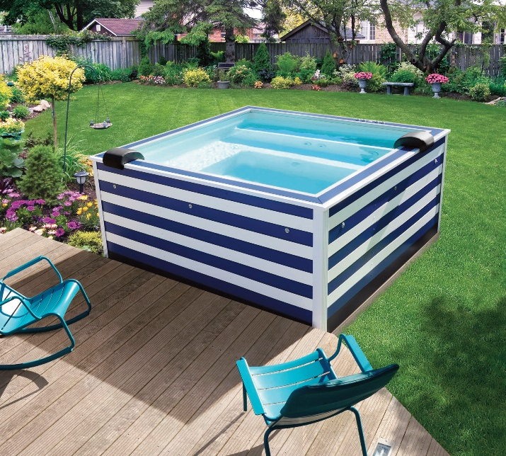 piscine hors sol une oasis de fra cheur. Black Bedroom Furniture Sets. Home Design Ideas