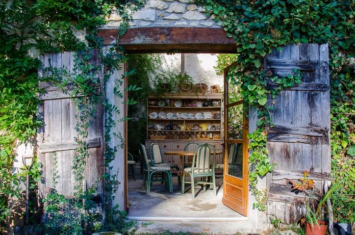 Déco du jardin d'hiver du Domaine de Sengresse (40) ©Patricia Marini-Metge