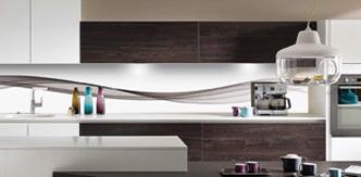 les cuisines accrochent leurs plus belles cr dences. Black Bedroom Furniture Sets. Home Design Ideas
